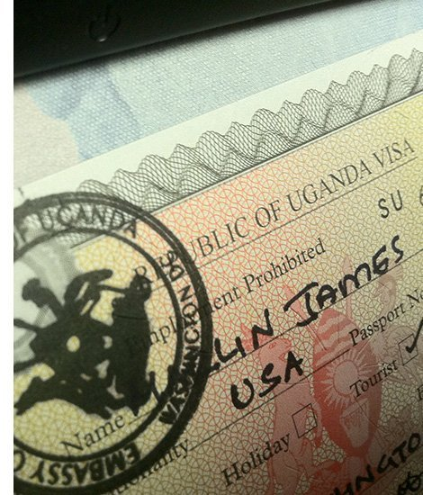 getting an East African Tourist and Business Visa in Uganda